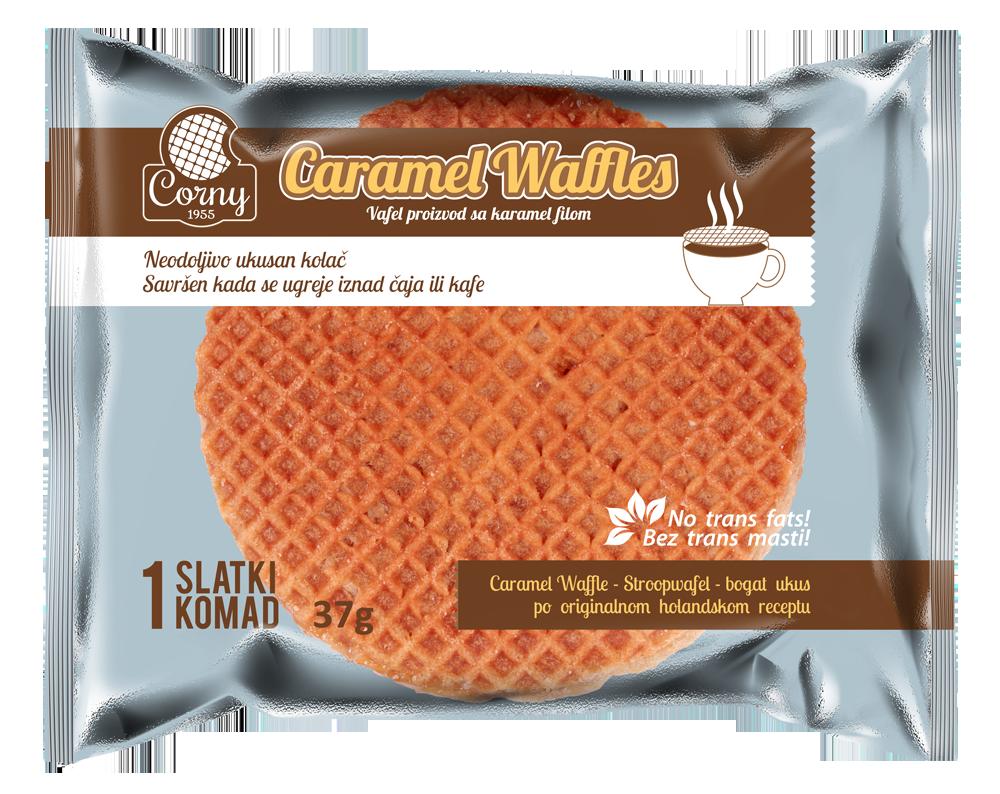 Caramel Waffles pojedinčno pakovanje